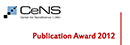 Four CeNS Publication Awards 2012