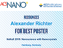Best Poster Prize at NaNaX9: Nanoscience with Nanocrystals